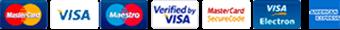 Ελαστικά Μαζιώτης - Τρόποι πληρωμής με πιστωτικές κάρτες, με άτοκες δόσεις.
